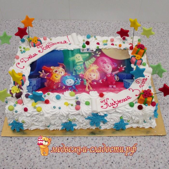 торт с картинкой фото