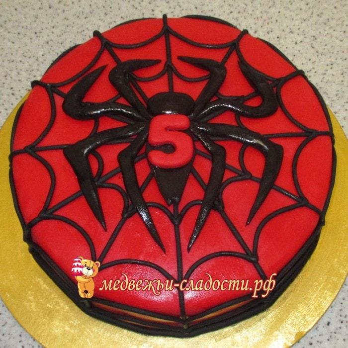 Как сделать паук для торта 190
