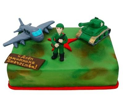 Торт для солдата фото
